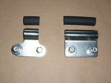 Norton P11 Oil Tank Mount Support SET STAINLESS p 11 ranger 03-4111