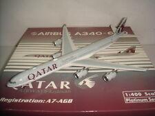 """Phoenix 400 Qatar Airways QR A340-600 """"2006s color"""" 1:400 A7-AGB"""