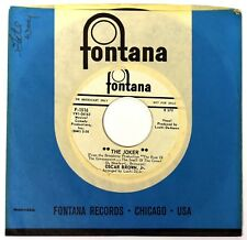 "Oscar Brown Jr. – ""The Joker"" PROMO – 1965 Fontana F 1516 – 7"" Jazz / Soul"