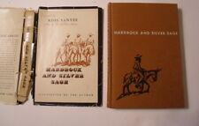 Hardrock and Silver Sage, Ross Santee, DJ, 1951, 1st Edition
