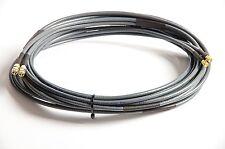 Twin Koaxkabel für LTE MIMO Antenne Belden H155 - SMA Stecker-->SMA Buchse 3 m