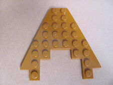 LEGO 6104 @@ Wedge, Plate 8 x 8 with 3 x 4 Cutout (x1) @@ DARK ORANGE @@ ORANGE