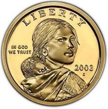 2003-S PROOF SACAGAWEA DOLLAR