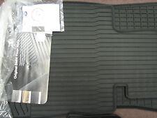 BMW 1 Series 128i 135i E82 E88 Black Rubber Floor Mat Front Set 2008-2013 OEM