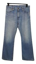 LEVI 507 JEANS w32in l30in Blu Cotone Casual Festa Quotidiana sera estate