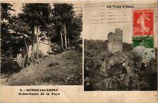 CPA  Aurec-sur-Loire - Notre-Dame de la Faye - La Tour d'Ortoi (585726)