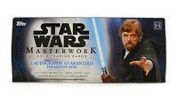 Star Wars Masterwork Hobby Box (Topps 2018) Factory Sealed Box IN STOCK