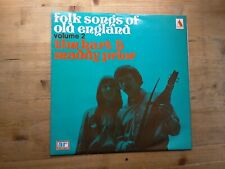 Tim Hart & Maddy Prior Folk Songs Of Old England Voumel 2 EX Vinyl Record ARPS-4
