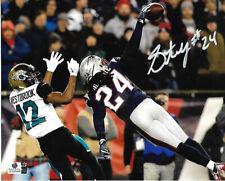 Stephon Gilmore New England Patriots Autographed 8x10 Photo