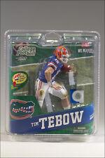 McFarlane College 4 TIM TEBOW variant action figure-Florida Gators-NCAA-NFL-NIB