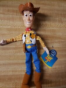 "Disney Toy Story 2 Woody Applause Soft 9"" Beanie Beanbag"