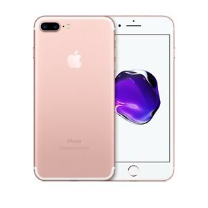 Apple iPhone 7 Plus 32GB 128GB 256GB Rose Gold Unlocked GSM/CDMA/LTE Grades ABC