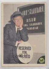 1966 Donruss Green Hornets Photos #2 Mike Axford the crime reporter Card 0s4