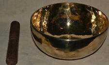 Singing Bowl Cuenco Tibetano 14 cm Meditation Therapy Hand Made Nepal AMAZING