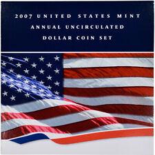 2007 US Uncirculated Dollar Coin Set