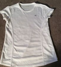 New Balance Cap Sleeve Athletic Top Womens Small  White NWOT