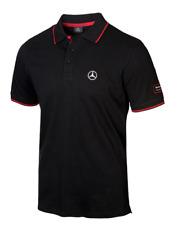 Original Mercedes-Benz Poloshirt Herren schwarz/rot (S-XXXL) B67871245
