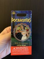 Pocahontas Spinner Pin- 25th Anniversary- Colors Of The Wind- Limited LE 3500