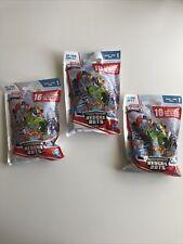 3x Transformers Rescue Bots Series 1 blind bags Hasbro Playskool Heroes