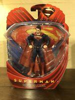 """Superman 6"""" Action Figure MOC 2013 Mattel DC Comics Batman Justice League Movie"""