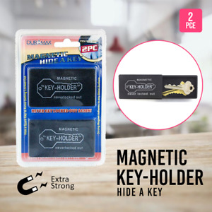 Magnetic Key Box Hide-A-Key Storage w/ Strong Magnet Home Cars Trucks Office