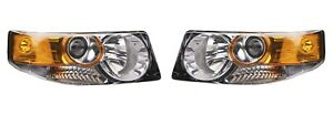 Left & Right Genuine Headlights Headlamps Pair Set For Honda Element SC 07-08