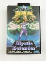 Mystic Defenders | Sega Mega Drive Game | PAL | Missing manual | Aus Seller
