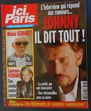 ►ICI PARIS 3043   HALLYDAY - CHANTAL GOYA - JEAN MARAIS - LORI - PAMELA ANDERSON