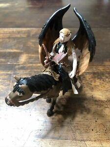 Schleich #70406 Elfen Surah on Horse with Baby Dragon Toy Fantasy Figurine A3