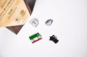 Fashion Coffee design Pin Brooch Lapel Christmas holiday birthday lover gift