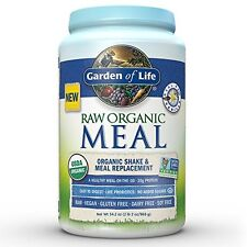 NEW Garden of Life Raw Organic Meal Vanilla 2.5 lbs FREE SHIPPING probiotics