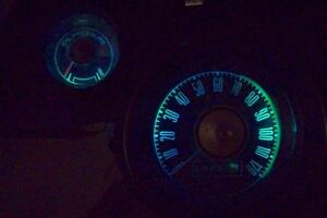 Mustang LED Dash Light Kit Aqua 1967 1968 67 68 Coupe Fastback Convertible GT A