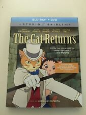 The Cat Returns (Blu-ray Disc, 2018, 2-Disc Set) BRAND NEW with Slip Cover