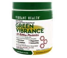 NEW VIBRANT HEALTH GREEN VIBRANCE VERSION 16.0 25 BILLION PROBIOTICS ACIDOPHILUS