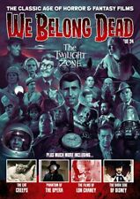 WE BELONG DEAD #24 Magazine AMICUS Hammer TWILIGHT ZONE Rod Serling NEW