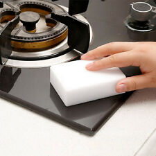 Magic Cleaning Sponge Eraser Paint Stain Remover Pad Bathroom Kitchen Accessory