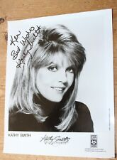 KATHY SMITH HAND SIGNED AUTOGRAPH ORIGINAL #418 PHOTO PHOTOGRAPH