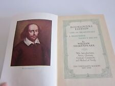 Life of Shakespeare & Midsummer Night's Dream by William Shakespeare 1901