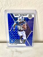2020 Mosaic Football CeeDee Lamb #268 NFL Debut Blue Prizm RC 04/99