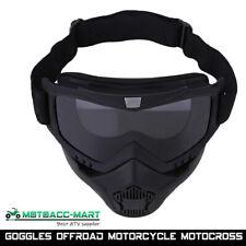 Black Snow Sport Goggles Snowboard Ski Snowmobile Face Mask Glasses Eyewear Atv