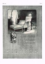 1920's BIG VINTAGE Simonds Sheraton Chair Furniture Byron G Newton Art Print AD