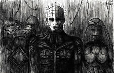 "Pinhead Hellraiser Clive Barker ""The Prince of Pain"" high quality 11 x 17 poster"