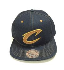 separation shoes 21005 5eb94 Mitchell   Ness Selvage Denim Snapback Cleveland Cavaliers