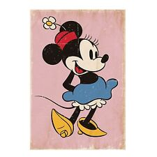 DISNEY Wall mural photo wallpaper for kids room MINNIE MOUSE pink wall decor