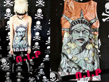 Punk Freedom Statue of Liberty Kpop Goth Hot Topic Visual Kei Hip Hop Tank Top
