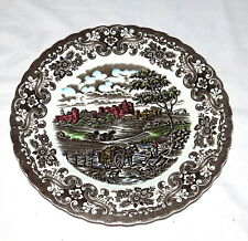 "British Anchor Olde Country Castles 10"" Dinner Plate"