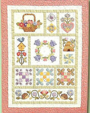 New Complete Block of the Month BOTM Quilt Pattern AMY'S SAMPLER