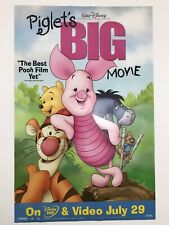 Piglets Big Movie Poster 27x40
