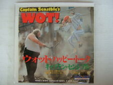 PROMO LABEL / CAPTAIN SENSIBLES WOT ! / 7INCH DAMNED NM MINT- SUPERB COPY