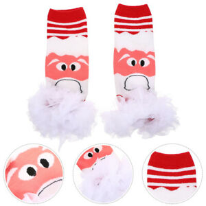 1 Pair Lovely Leg Warmers Comfortable Autumn Winter Foot Covers for Toddlers